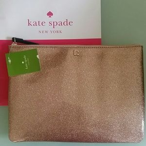 Kate Spade Gia Mavis Street Clutch Rose Gold 717